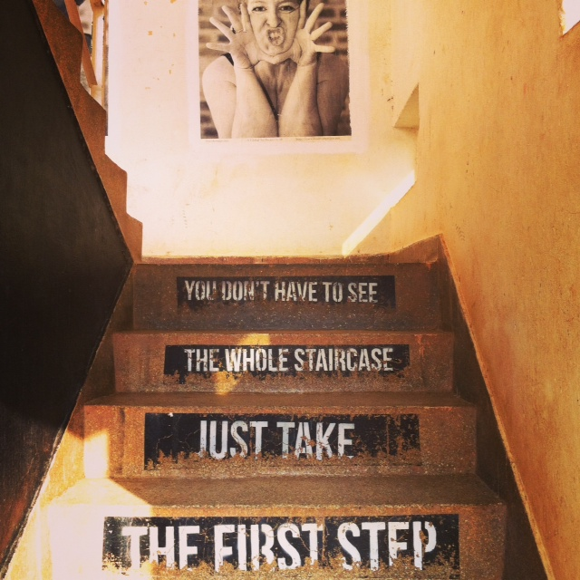 Staircase at Office.